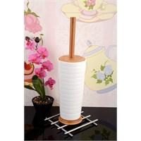 Royal Windsor Bambu Tutacak Ve Standlı Lüx Porselen Wc Fırçası