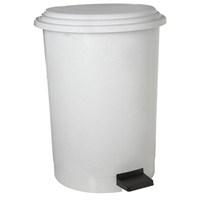 Dayco Plastik Pedallı Çöp Kovası 20 Lt Beyaz