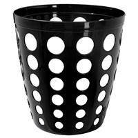 Dayco Plastik Delikli Ofis Tip Kova Siyah