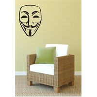 Urbangiftguy Fawkes Decal S 25*35Cm
