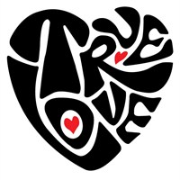 Urbangifttrue Love S Decal 25*35 Cm