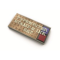 Npwtypewrıter Stamp & Ink Set