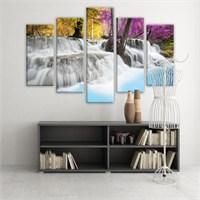 Dekoratif 5 Parçalı Kanvas Tablo-5K-Hb061015-09