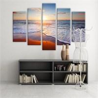 Dekoratif 5 Parçalı Kanvas Tablo-5K-Hb061015-13