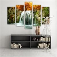 Dekoratif 5 Parçalı Kanvas Tablo-5K-Hb061015-17
