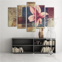 Dekoratif 5 Parçalı Kanvas Tablo-5K-Hb061015-31