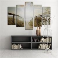 Dekoratif 5 Parçalı Kanvas Tablo-5K-Hb061015-48