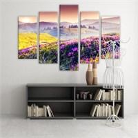 Dekoratif 5 Parçalı Kanvas Tablo-5K-Hb061015-75
