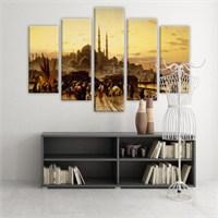 Dekoratif 5 Parçalı Kanvas Tablo-5K-Hb061015-77
