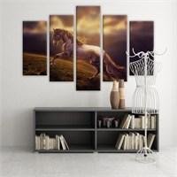 Dekoratif 5 Parçalı Kanvas Tablo-5K-Hb061015-97