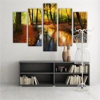 Dekoratif 5 Parçalı Kanvas Tablo-5K-Hb061015-99