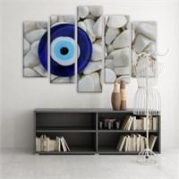 Dekoratif 5 Parçalı Kanvas Tablo-5K-Hb061015-100