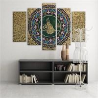 Dekoratif 5 Parçalı Kanvas Tablo-5K-Hb061015-105