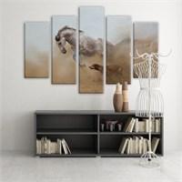 Dekoratif 5 Parçalı Kanvas Tablo-5K-Hb061015-127