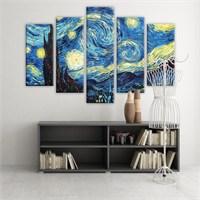 Dekoratif 5 Parçalı Kanvas Tablo-5K-Hb061015-134