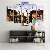 Dekoratif 5 Parçalı Kanvas Tablo-5K-Hb061015-136