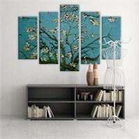 Dekoratif 5 Parçalı Kanvas Tablo-5K-Hb061015-165