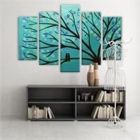Dekoratif 5 Parçalı Kanvas Tablo-5K-Hb061015-174