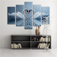 Dekoratif 5 Parçalı Kanvas Tablo-5K-Hb061015-194