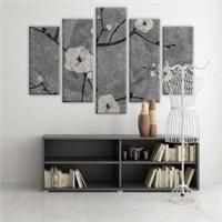 Dekoratif 5 Parçalı Kanvas Tablo-5K-Hb061015-197