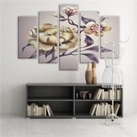 Dekoratif 5 Parçalı Kanvas Tablo-5K-Hb061015-204