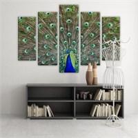 Dekoratif 5 Parçalı Kanvas Tablo-5K-Hb061015-225