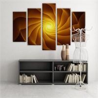 Dekoratif 5 Parçalı Kanvas Tablo-5K-Hb061015-232