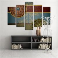 Dekoratif 5 Parçalı Kanvas Tablo-5K-Hb061015-233