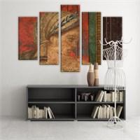 Dekoratif 5 Parçalı Kanvas Tablo-5K-Hb061015-242