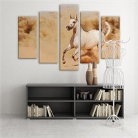 Dekoratif 5 Parçalı Kanvas Tablo-5K-Hb061015-263
