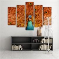 Dekoratif 5 Parçalı Kanvas Tablo-5K-Hb061015-275