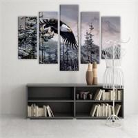 Dekoratif 5 Parçalı Kanvas Tablo-5K-Hb061015-292