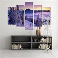 Dekoratif 5 Parçalı Kanvas Tablo-5K-Hb061015-306