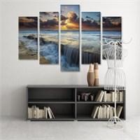 Dekoratif 5 Parçalı Kanvas Tablo-5K-Hb061015-313