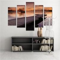 Dekoratif 5 Parçalı Kanvas Tablo-5K-Hb061015-314