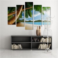 Dekoratif 5 Parçalı Kanvas Tablo-5K-Hb061015-315