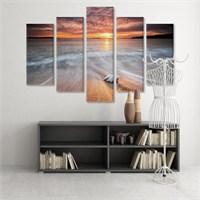 Dekoratif 5 Parçalı Kanvas Tablo-5K-Hb061015-318