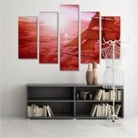 Dekoratif 5 Parçalı Kanvas Tablo-5K-Hb061015-322