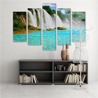 Dekoratif 5 Parçalı Kanvas Tablo-5K-Hb061015-325