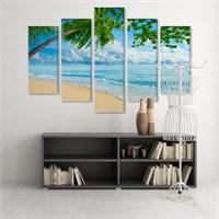 Dekoratif 5 Parçalı Kanvas Tablo-5K-Hb061015-326