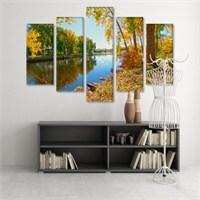 Dekoratif 5 Parçalı Kanvas Tablo-5K-Hb061015-328