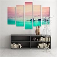 Dekoratif 5 Parçalı Kanvas Tablo-5K-Hb061015-334