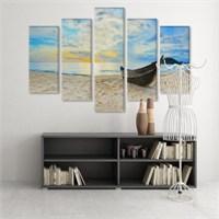 Dekoratif 5 Parçalı Kanvas Tablo-5K-Hb061015-336