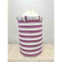 Alla Turca Wash'N Roll Purple Çamaşır Sepeti