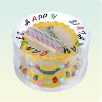 Out Of The Blue Multıcoloured Wax Bırthday Cake Candle - Acil Durum Doğumgünü Pastası + 5 Mum
