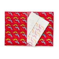 Npw Kağıt Mendil - Moustache - Bıyık Motifli
