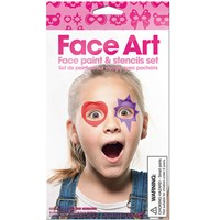 Npw Face Art - Kız Çocuk - Yüz Boyama Seti