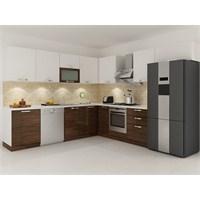 Kenyap 134006 Highgloss PVC Kapaklı Mutfak 300 cm