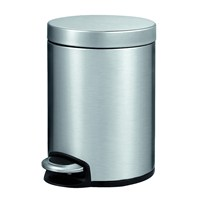 Primanova Çelik Pedallı Çöp Kovası 5 Lt D-15290