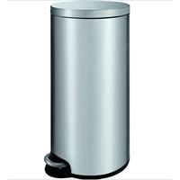 Primanova Paslanmaz Çelik Softclose Pedallı Çöp Kovası 30 Lt D-15327